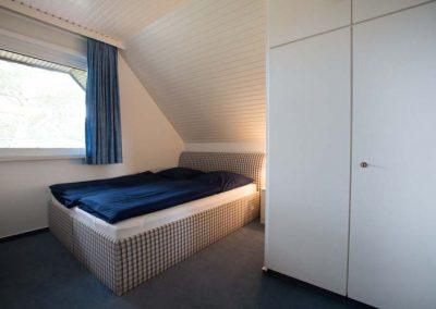 Das 2. Schlafzimmer von Wohnung 2 im Nordlicht Amrum