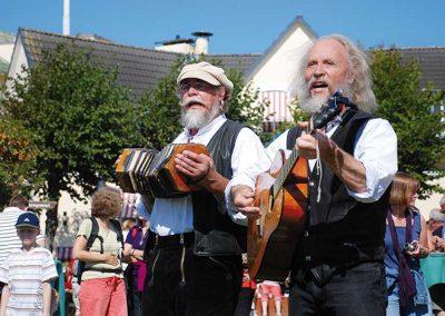 Festliche Stimmung mit Musikern auf Amrum