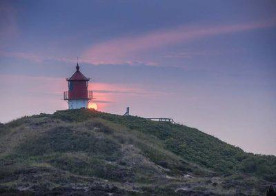 Das Quermarkenfeuer, der kleinste Leuchtturm von Amrum