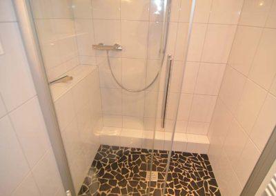 Die Dusche von Wohnung 4 im Nordlicht Amrum